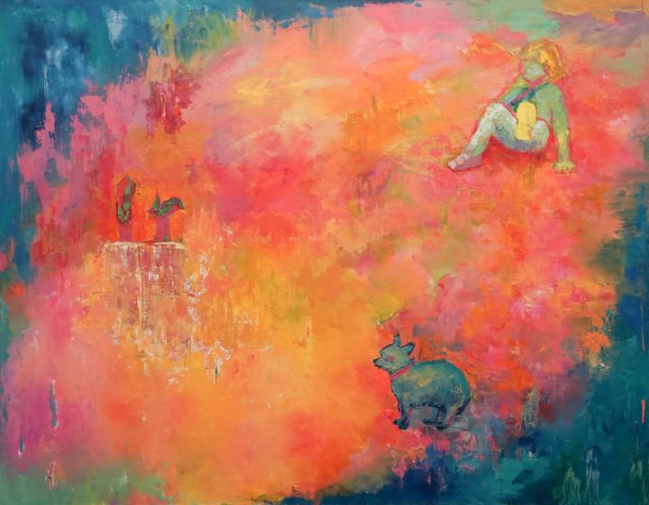 City people#1, 2016/10, oil on canvas, 180cmx140cm