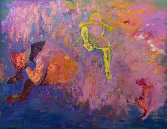 City people#2, 2016/11, oil on canvas, 180cmx140cm