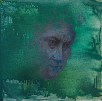 2015_10, oil on canvas board, 30cmx30cm, Passenger#1