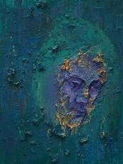 2015_11, oil on canvas, 30cmx40cm, City people#8