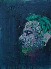 2015_11, oil on canvas board, 30cmx40cm, Passenger#5