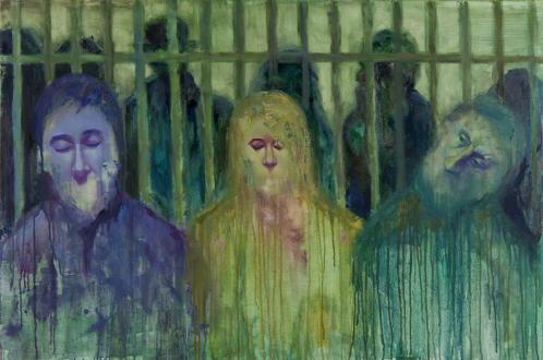 2015_12, oil on canvas, 80cmx60cm, Passengers#10