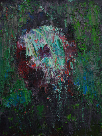 2016_3, oil on canvas, 30cmx40cm, City people#3