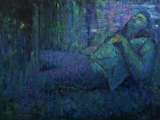 2016_5, oil on canvas, 160cmx140cm, Passenger#18
