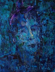 2016_7, oil on canvas, 30cmx40cm, Texi Driver#1