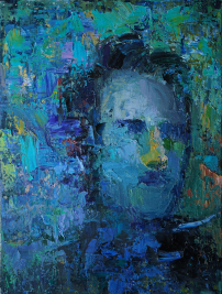 2016_7, oil on canvas, 30cmx40cm, Texi Driver#3