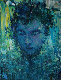 2016_8, oil on canvas, 30cmx40cm, Passenger#15