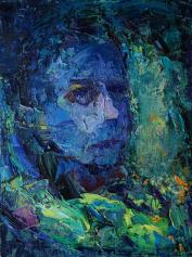 2016_8, oil on canvas, 30cmx40cm, Texi Driver#2